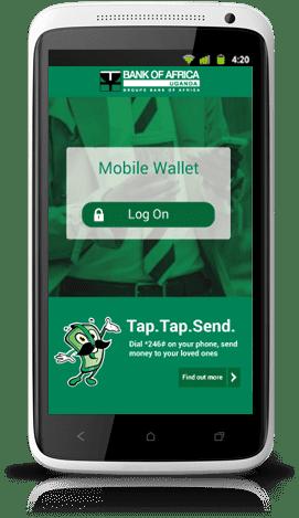 Mobile Wallet   Bank of Africa Uganda